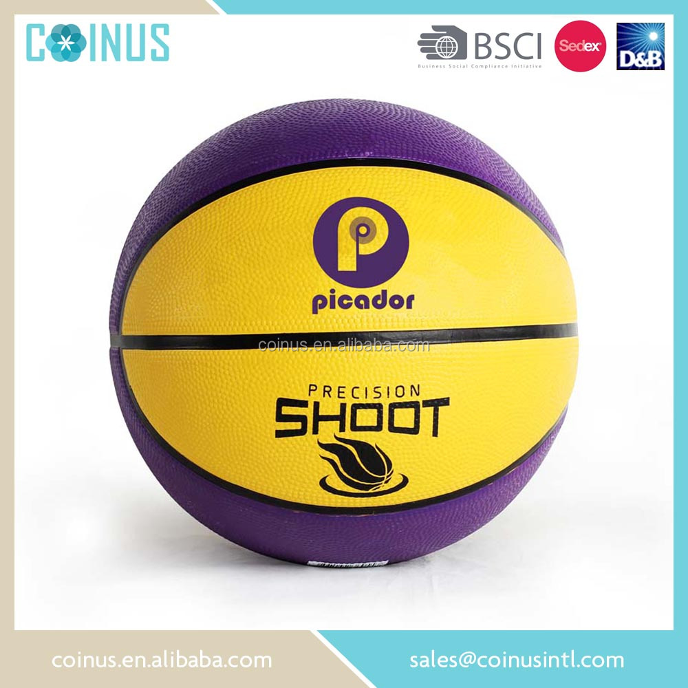 Size 3 mini rubber basketball ball for kids