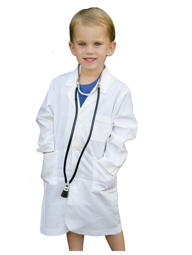 eadccc38f انظر صورة أكبر تأثيري هالوين الملابس للاطفال طفل زي الطبيب-أزياء ...