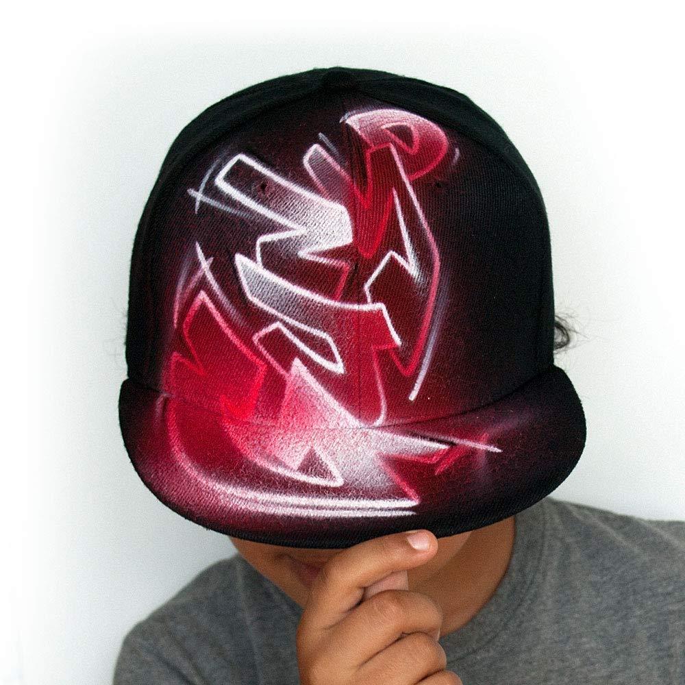 Rebel City NY New York 3D Script Logo Snapback Flat Peak Cap Hat Snap Back