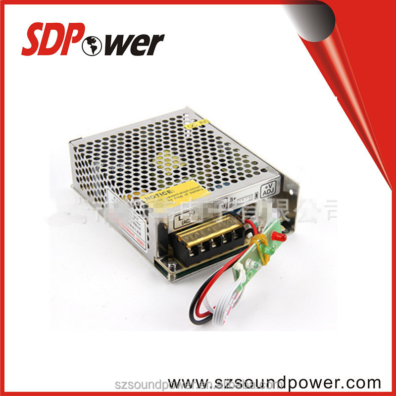 SDPower 12V~13.8V 60W DUAL ouputs emergency power supply for access system