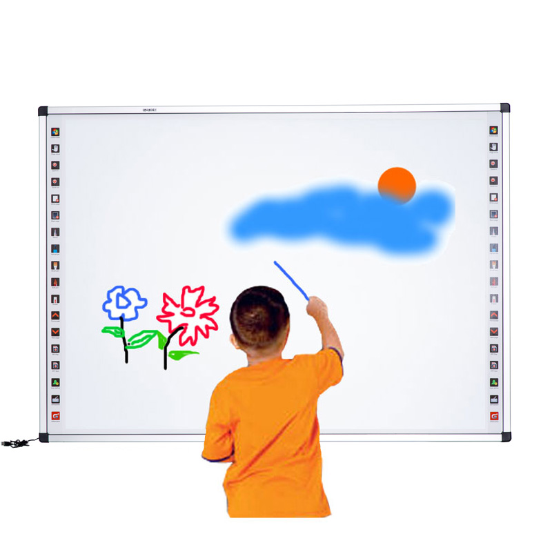 Electronic whiteboard infrared digital Smart white boards for classroom or office