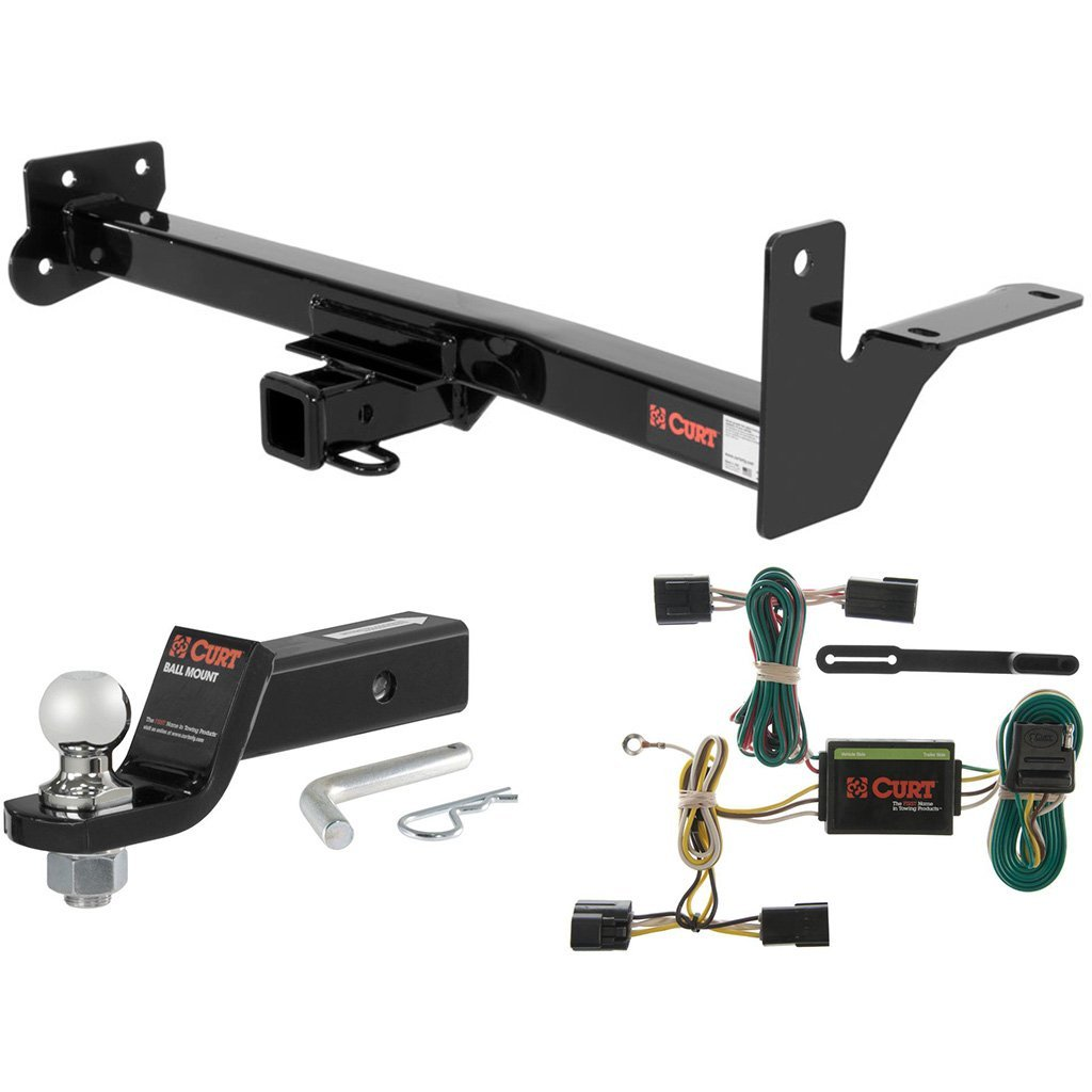 "Get Quotations · CURT Class 3 Tow Package with 1-7/8"" Ball for Honda  Passport"