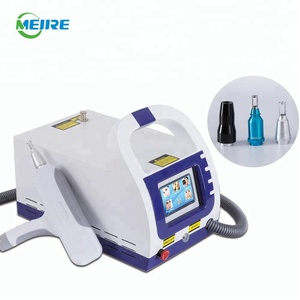 Best Portable Nd Yag Q Switch Laser Tattoo Removal Beauty Machine Infrared Aiming Beam For Clinic Beauty Center
