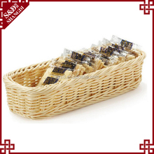 Cheap wholesale eco-friendly food packing or storage wicker basket