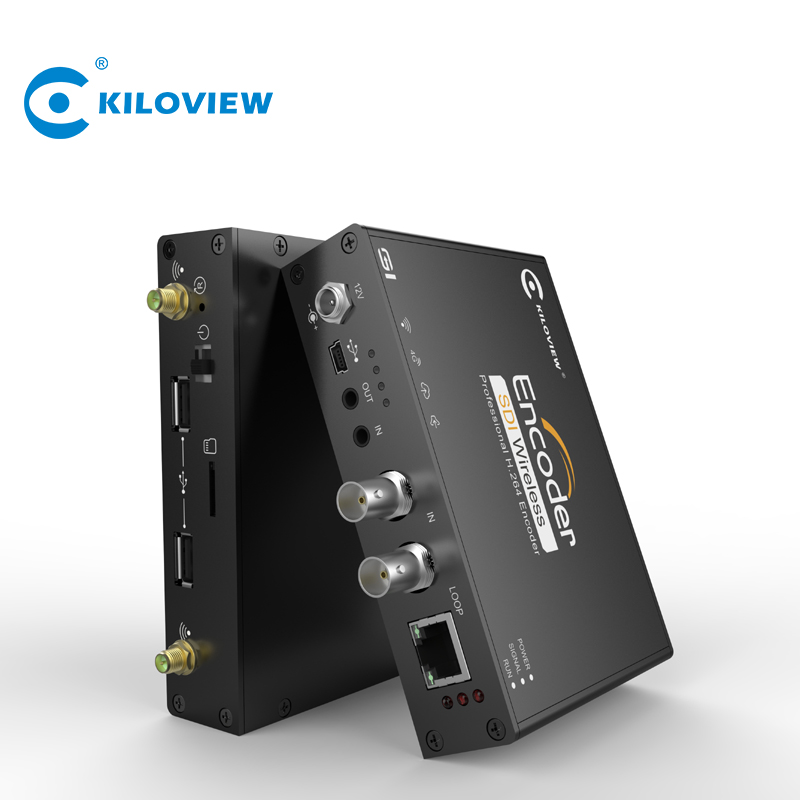 Kiloview draadloze h.264 live streaming server hdmi naar ip 4g wifi srt rtmp rtsp video encoder hardware