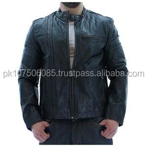 Men Leather Jacket Black New Look Jacket Buy First Genuine