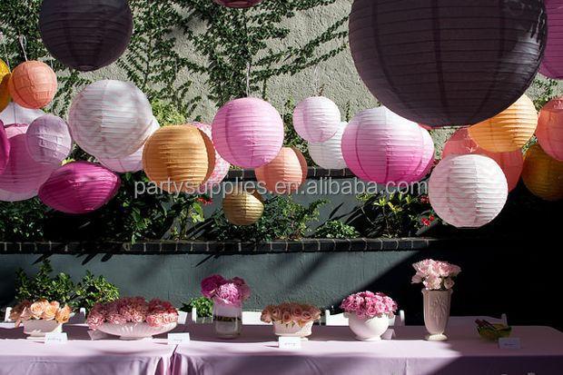 Garden Party Decoration Orted Colorful 20cm 25cm 30cm 35cm 40cm Round Ball