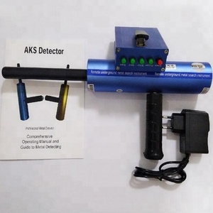 Professional AKS Blue Color Gold Detector Long Range Gold Diamond Detector AKS 3D Metal Detector Gold Digger with Yellow Box