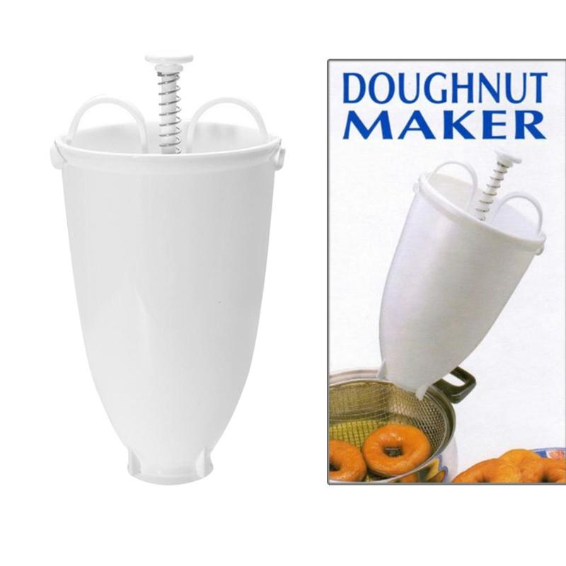 Mini Donut Maker Dispenser Doughnut Maker Artifact Fry Donut Mould Waffle Doughnut Cake Mould Quick&Easy Donut Maker for Kitchen