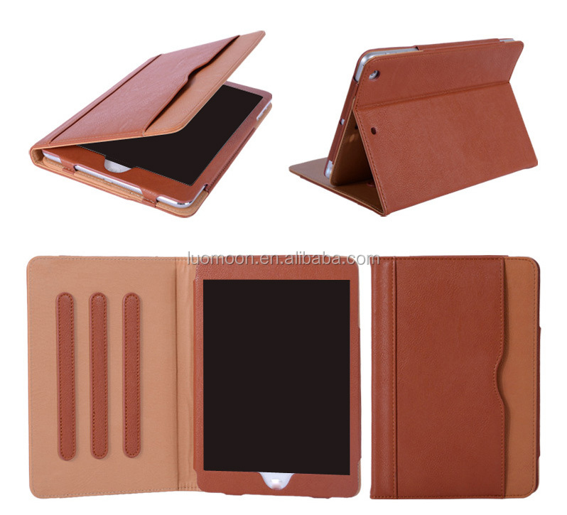 smart leather tablet case cover for ipad air mini pro 2 3 4 for Xiaomi mipad 1 2 with dormant auto sleep wake function
