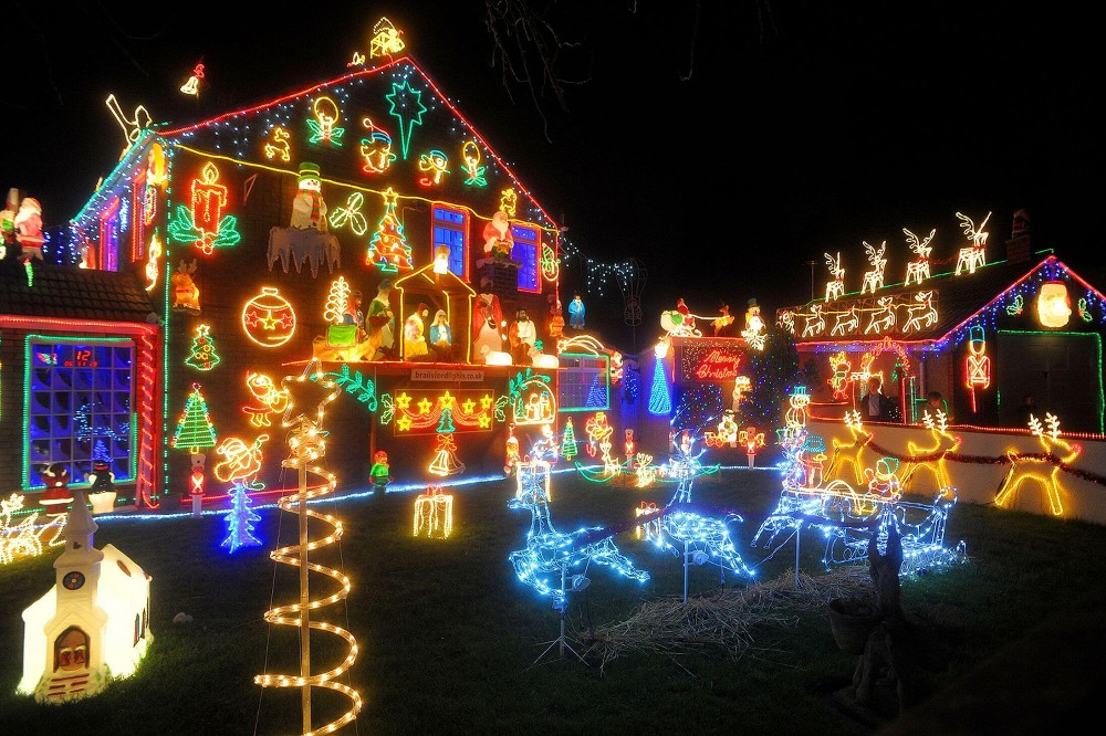Animated Christmas Decorations Indoor 2d Outdoor Christmas L...