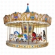 Melody electric music Led lights carousel merry-go-round horse sale