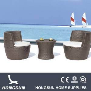 Water hyacinth furniture low wholesaler rattan two seater sofa