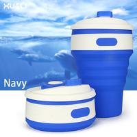 Custom logo China OEM Silicone Coffee Mug 350ml coffee cup set