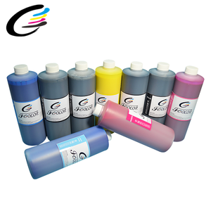 Waterproof Pigment Ink For Digital Textile Printing Ink For P6080 P8080 P7080 P9080