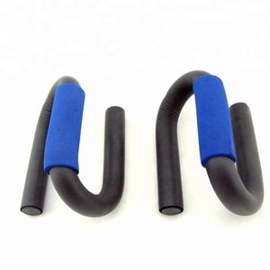 flexible S Shaped Push Up Bar Upper Body Fitness