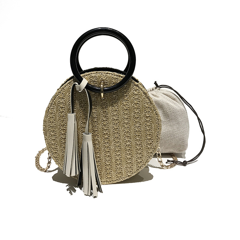 Rattan bag round bali Indonesia Vietnam wholesale straw bags