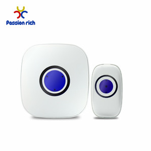 Plug-in LED Wireless Doorbell Door Chime 38 Ringtones Optional Doorbell Electric School Bell