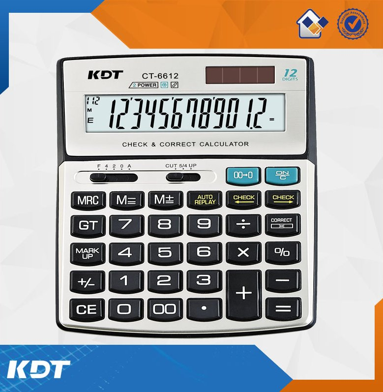 Big display hot selling 12 digits high quality electronic calculator