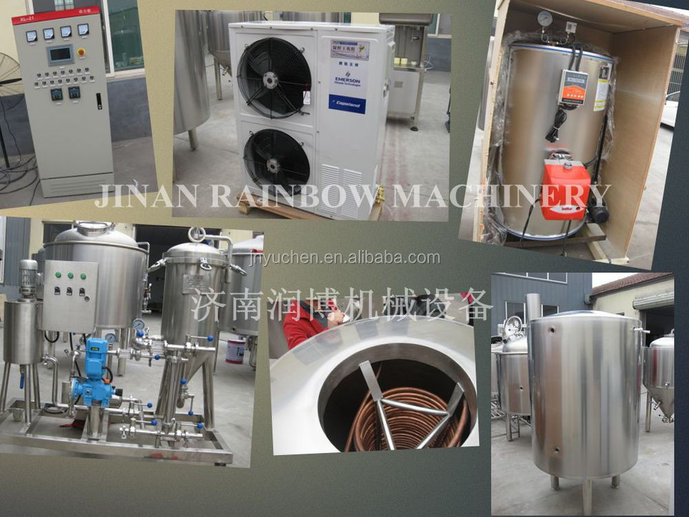 1000L 10BBL Craft beer brewing equipment/factory brewery system/jacketed fermenter