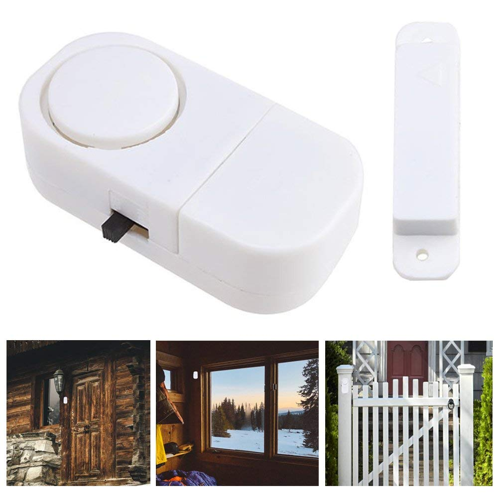 Get Quotations 6 X Wireless Motion Sensor Detectors Door Gate Entry Chime Alarm Security System