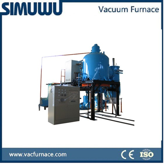 Vacuum gas quenching furnace in strictly seal vacuum structure