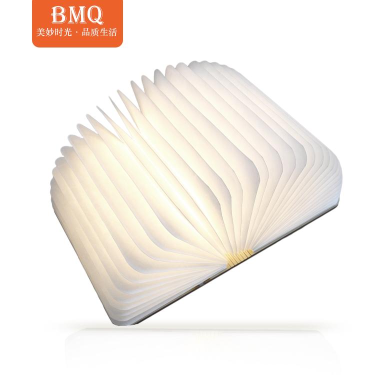 Migliori regali led libro lampada forma di ricarica led luce del libro fornitore in cina
