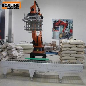 Rice Bag Price Automatic KUKA Robot Palletizer
