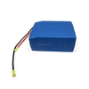 Rechargeable 24V 20Ah li-ion battery pack 3.7V 7.4V 11.1V customized voltage and capacity