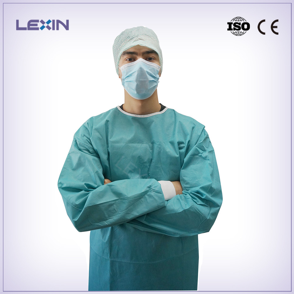 Clinic Use Disposable Medical Doctors Gown - Buy Disposable Surgical ...