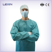 Clinic use disposable medical doctors gown
