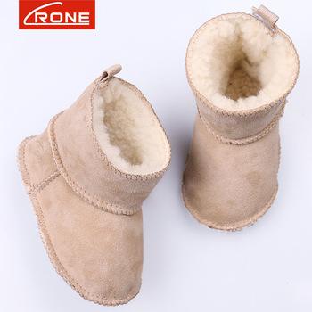 Australian Sheepskin Soft Warm Baby Shoes Winter Baby Boots Boy And
