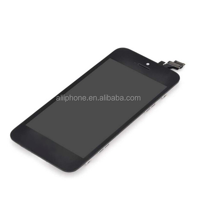 Top quality mobile phone lcd display screen for iphone 5g replace lcd digitizer assembly