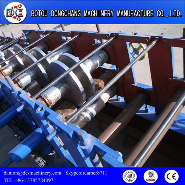 High quality Changeable C Z U Purline Profile Roll Forming Machinery For Production Line