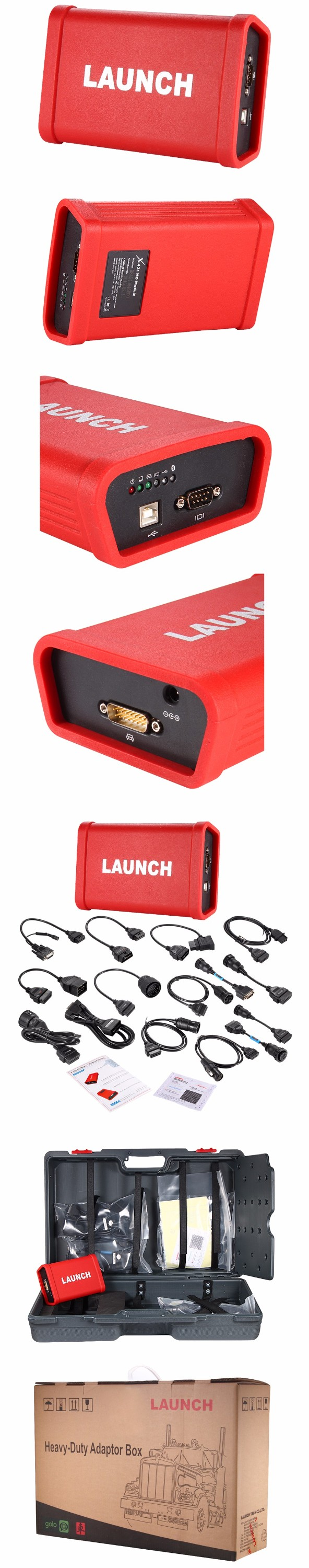 Used Blue tooth Launch car scanner for luxury car