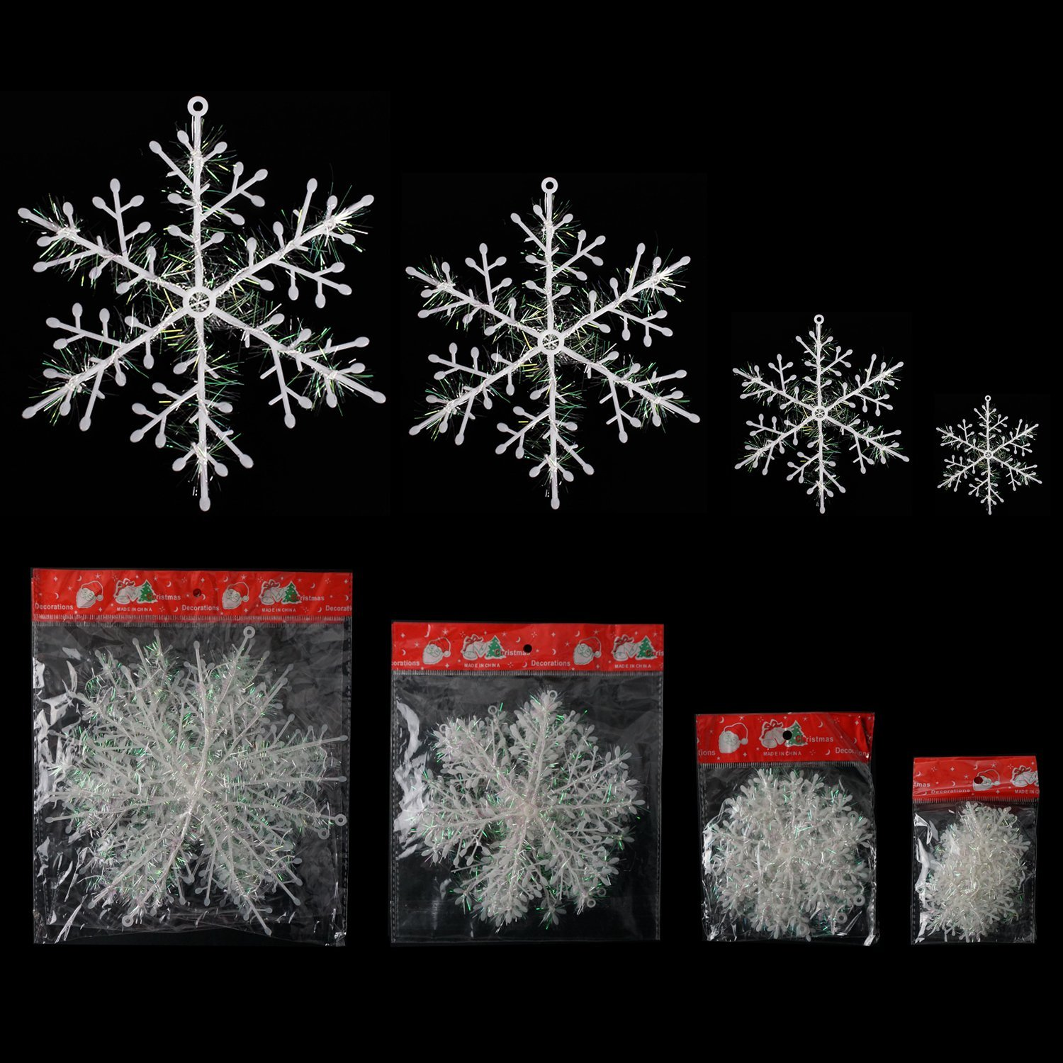 stars decorations yard snowflake lighted led decoration envy snowflakes outdoor folding decor