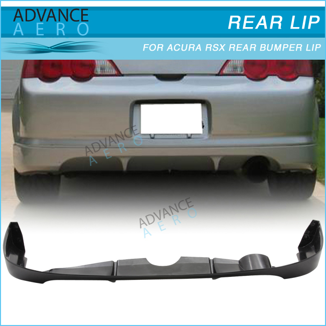 Hot Sale Body Kit For Acura Rsx Poly Urethane Pu Black