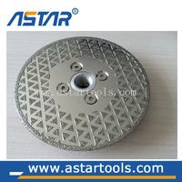 High quality electroplated diamond saw blade
