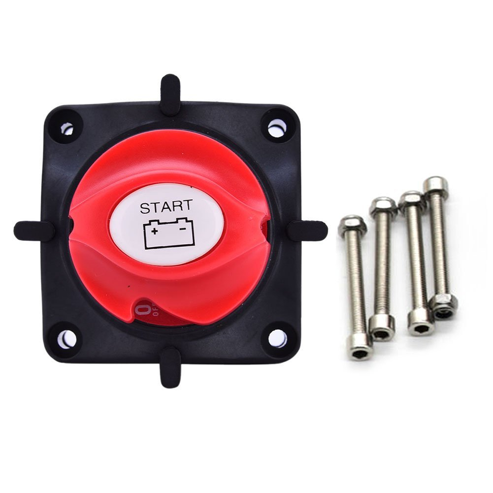 Cheap Battery Isolator Marine Find Deals On Further 2 Alternator 3 Wiring Get Quotations Disconnect Master Switch Cut Off Rotary 12v Boat