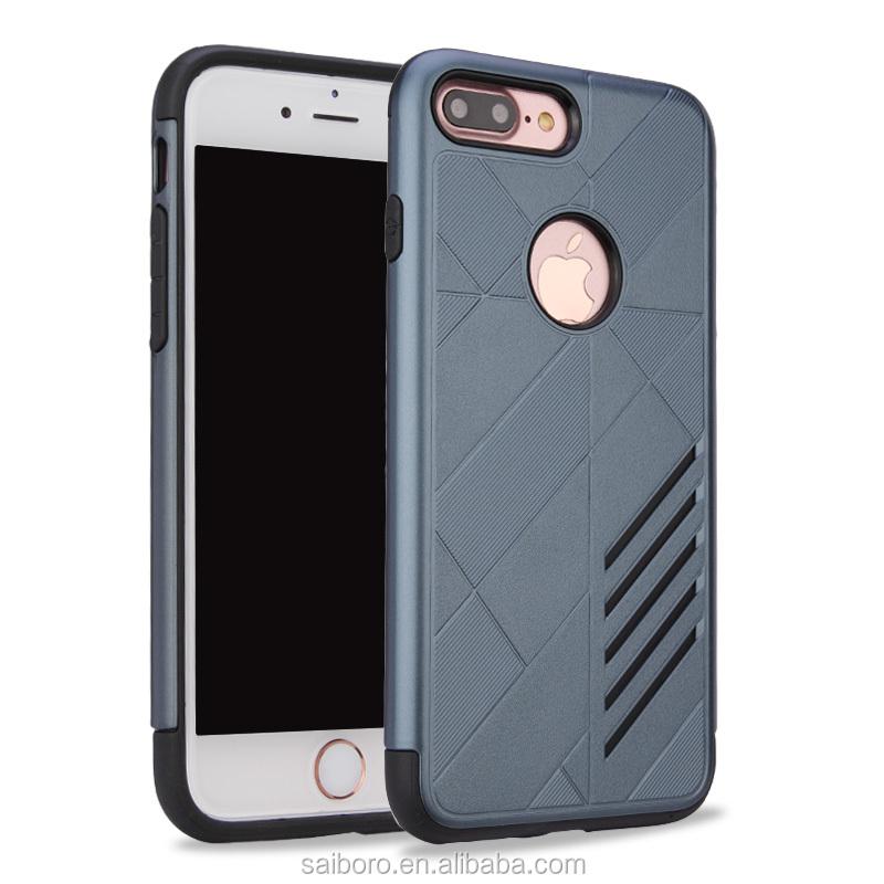 Купить оптом из Китая высокое качество ПК ТПУ Combo Броня телефон Аксессуары  для iPhone 7 Plus 49ad7d142ffc9