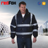 100% polyester wholesale safety reflective men bomber jacket