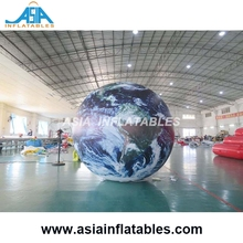 Giant inflatable globe moon บอลลูน/inflatable earth global สำหรับขาย