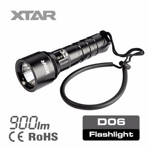 XTAR 2016 Hot XM-L2 U2 900Lm LED diving led round flashlight