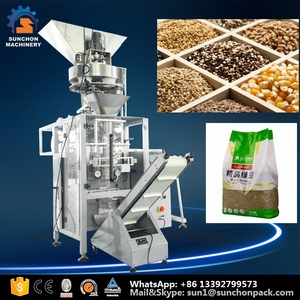 Volumetric Filler Automatic Seeds/Pulses/Beans/Chickpea Packing Machine
