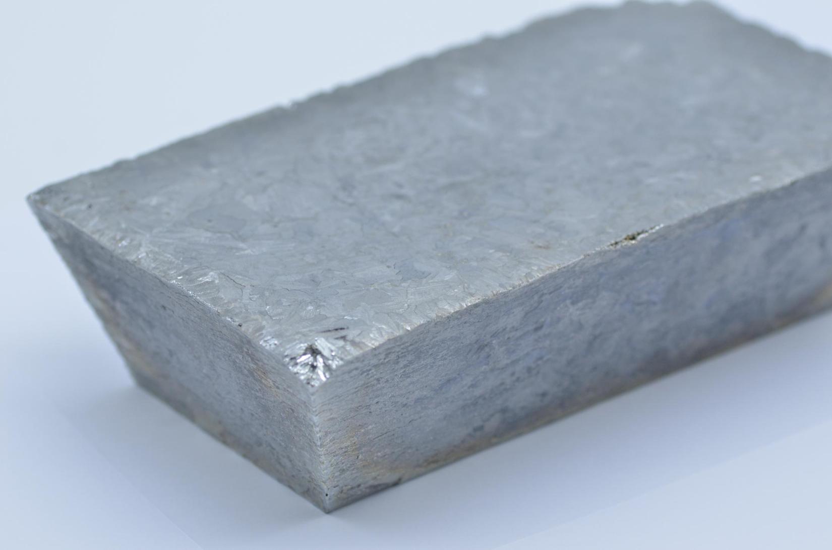 Best sell tellurium ingot solid form metallurgy/Te ingot