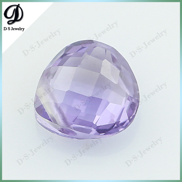 Synthetic Corundum Faceted Gemstone Alexandrite Color Stone Prices