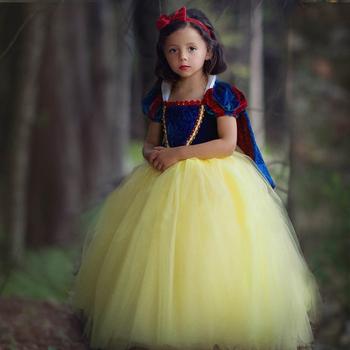 Girls princess dresses snow white costume fancy halloween girls girls princess dresses snow white costume fancy halloween girls party dresses mightylinksfo