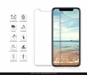 Screen Protector Sample Premium Tempered Glass for iPhone X