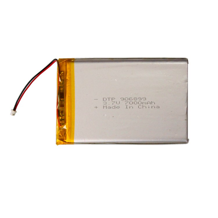 Factory custom hot sell flat li ion polymer battery 3.7v 7000mah battery for tablet pc