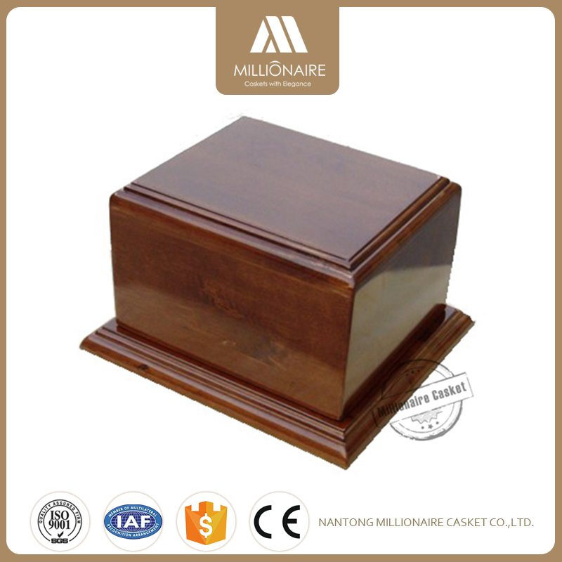 New brand 2018 urns for cremation cheap wood caskets